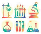Colorful Science Element Vector