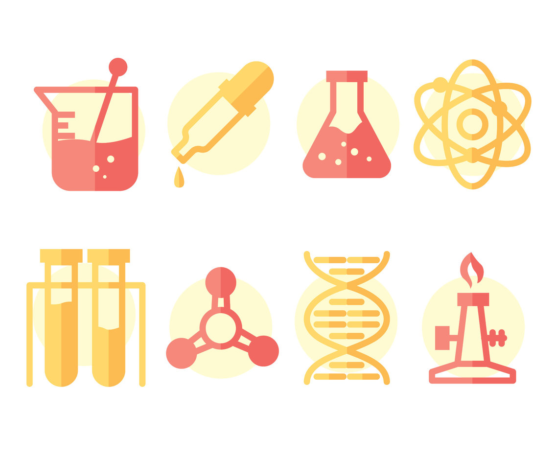 Science Element Vector Set