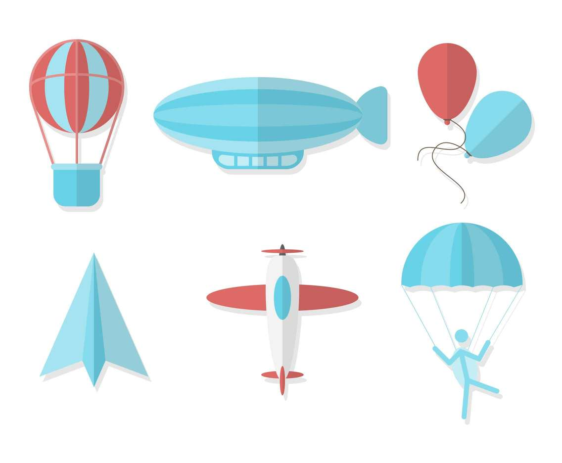 Free Air Transport Vector