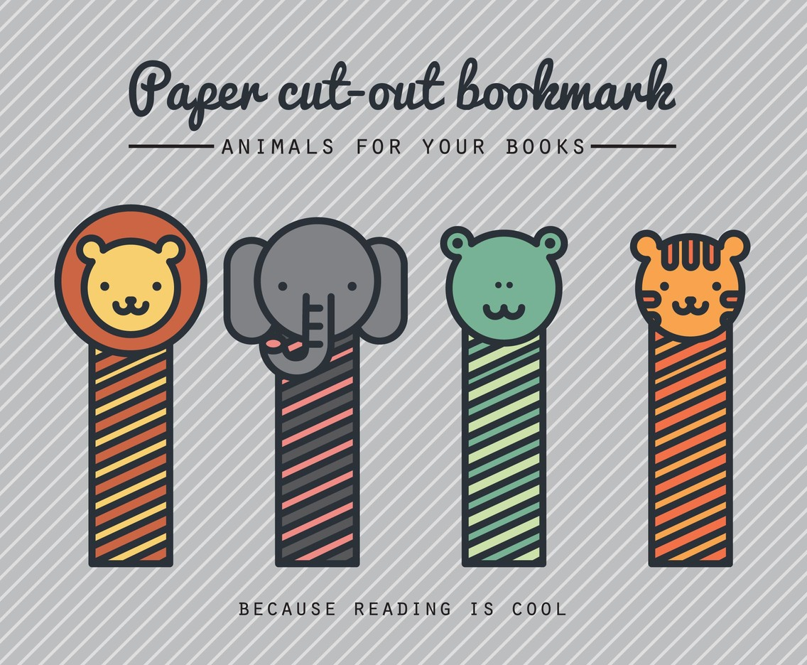 Paper Cut-Out Bookmarks