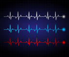 Heartbeat illustration vector