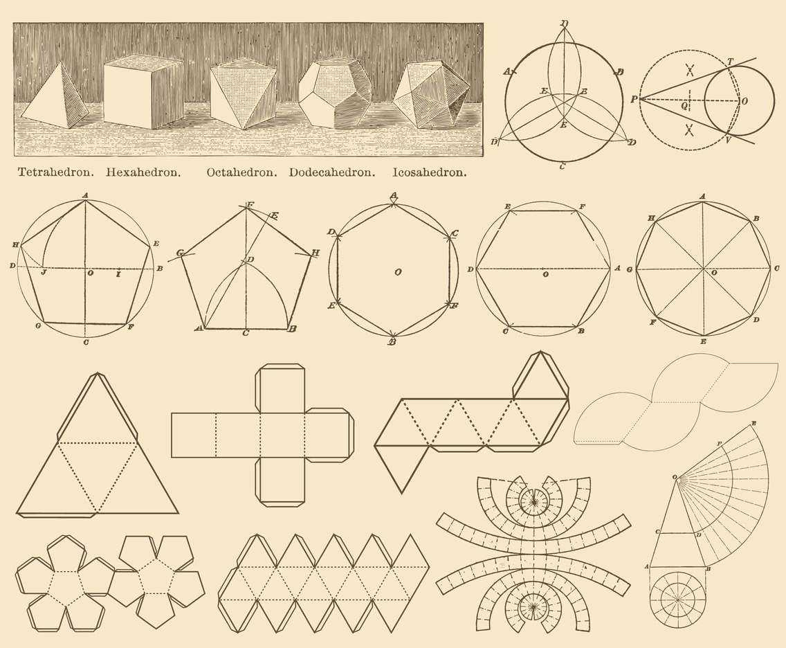 Sepia 2D Geometry Constructions