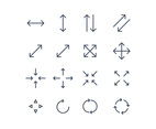 Set of Outlined Icons