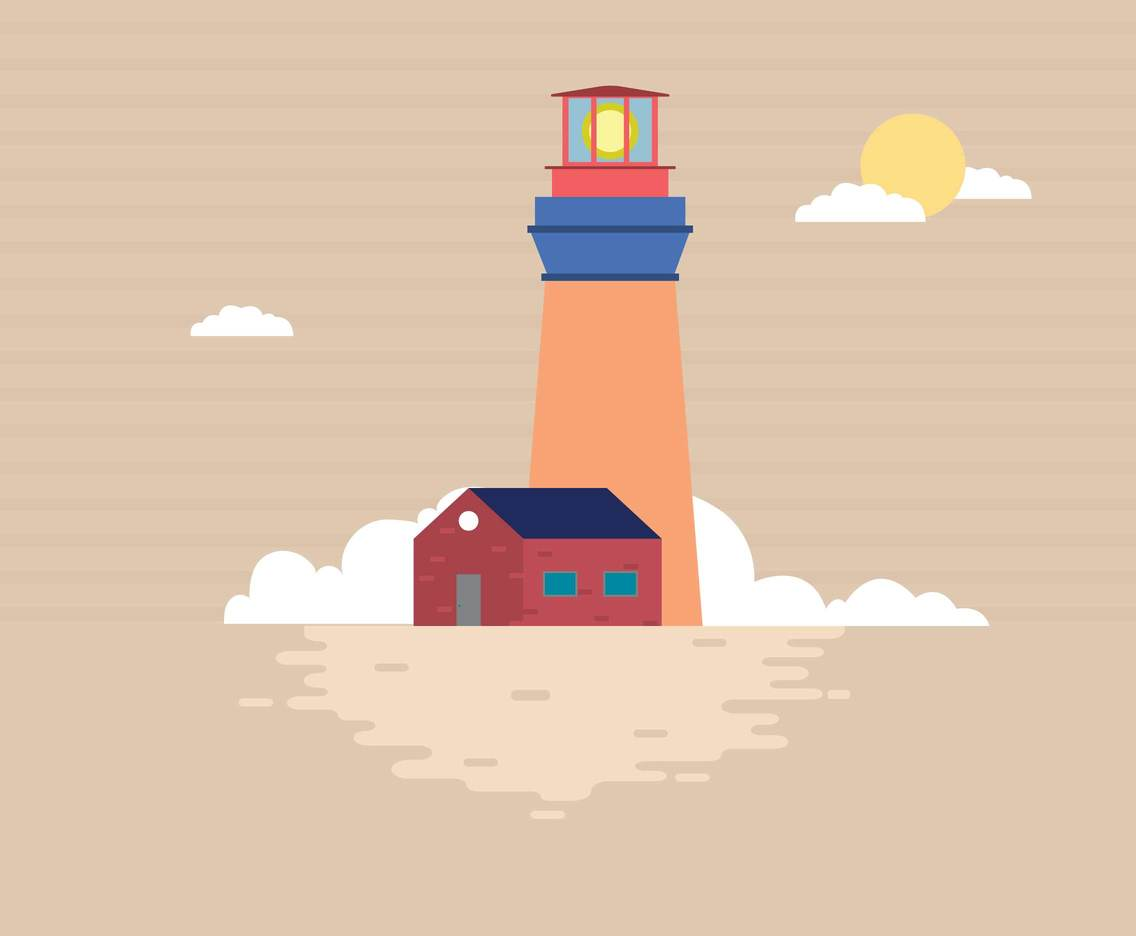 Free Lighthouse Illustration
