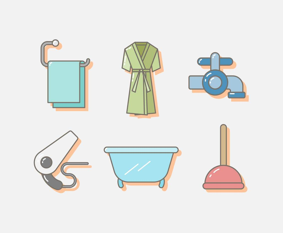 Free Toiletries Vector