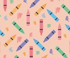 Colorful Crayon Pattern