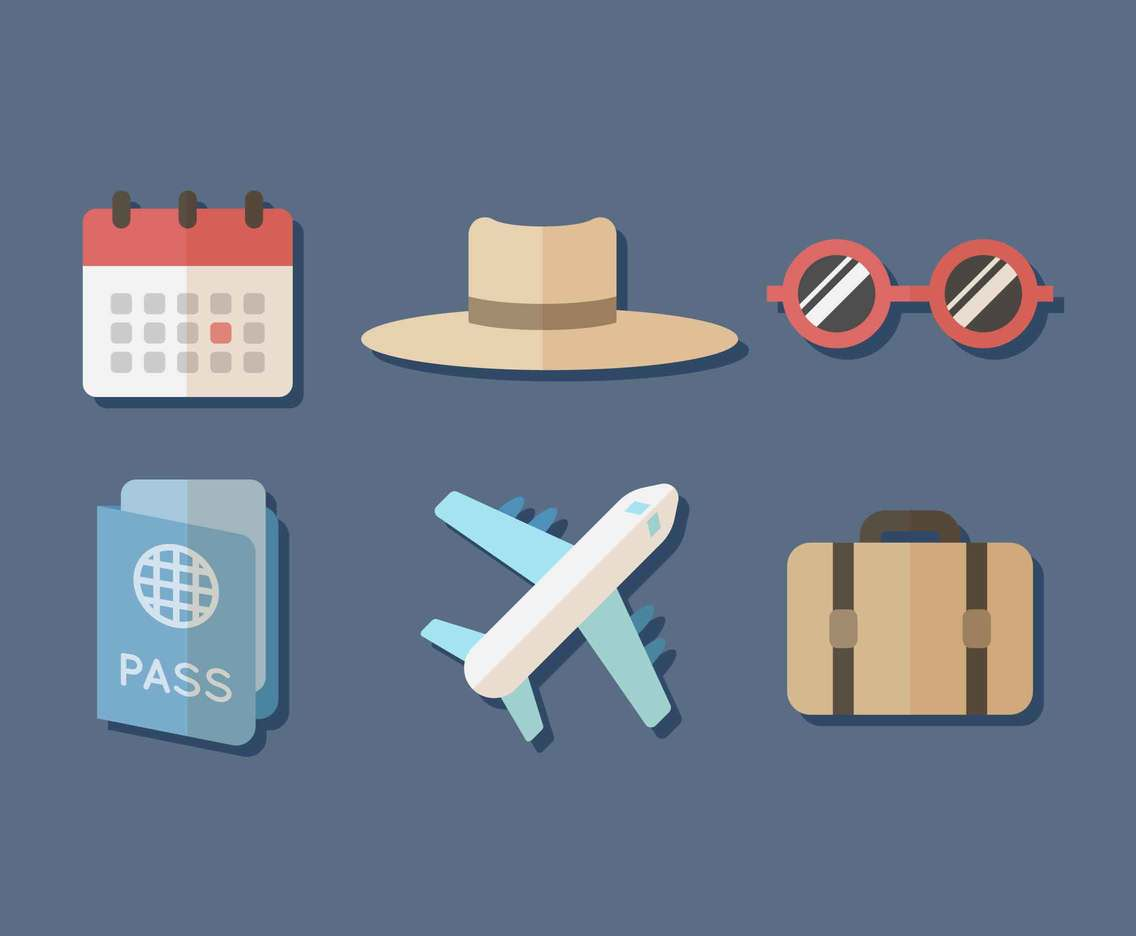 Free Traveling Vector