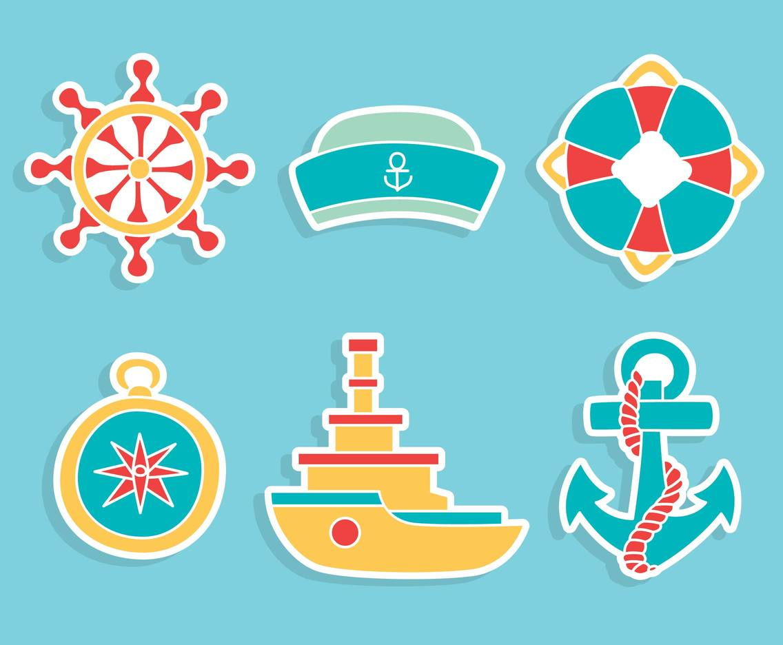 Nautical Element Vector Set
