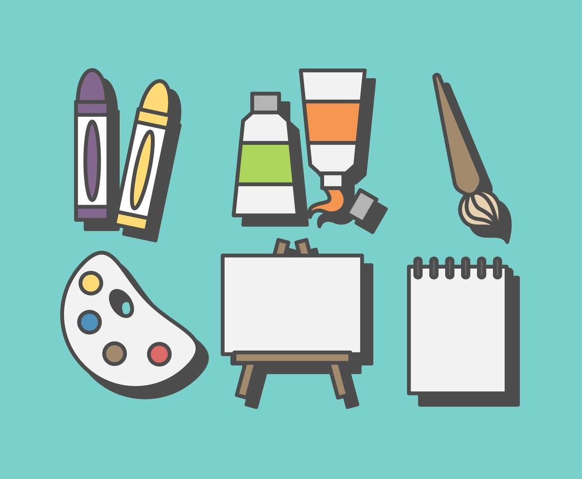 Free Stationary and Art Vector