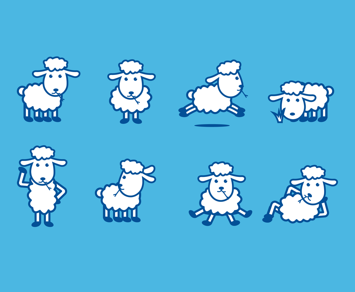 Free Sheep Vector