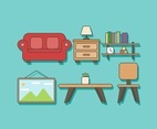 Free Home Furniture Vector