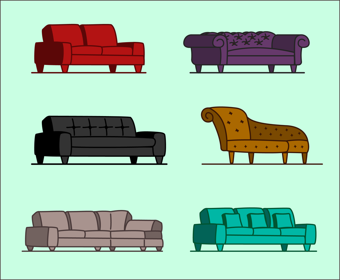 Free Couch Vector