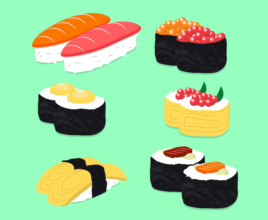 Free Sushi Vector