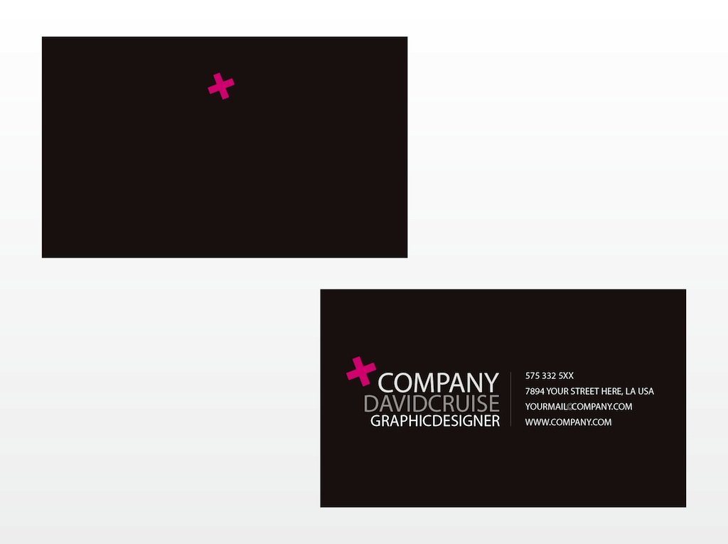 Business Card Vector Template Vector Art & Graphics | freevector.com