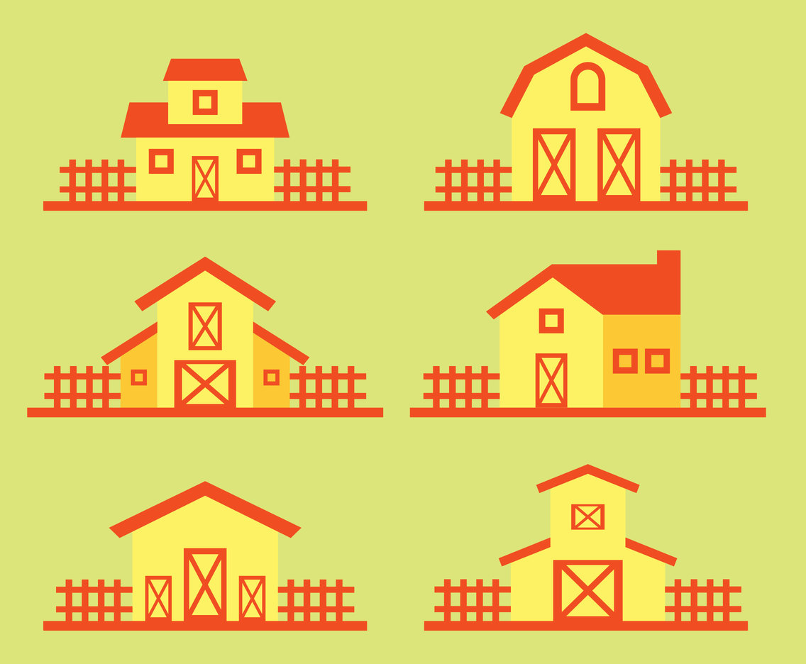 Barn Collection Vector