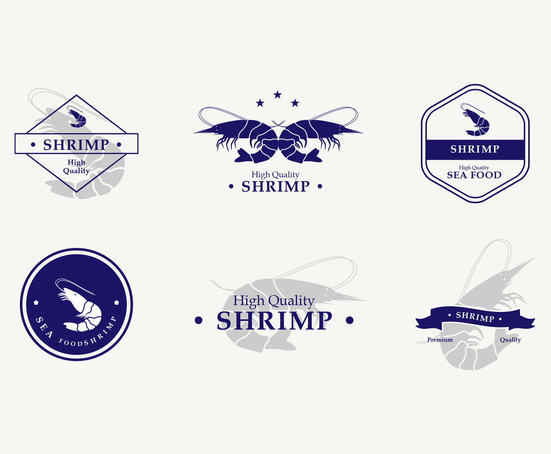 Shrimp Emblem Design