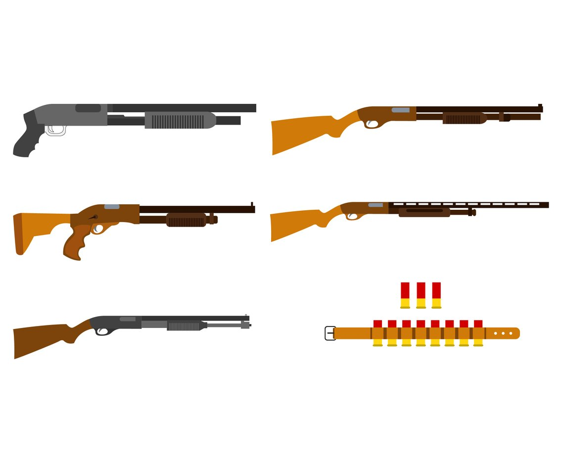 Shotgun and Refill Vector Pack