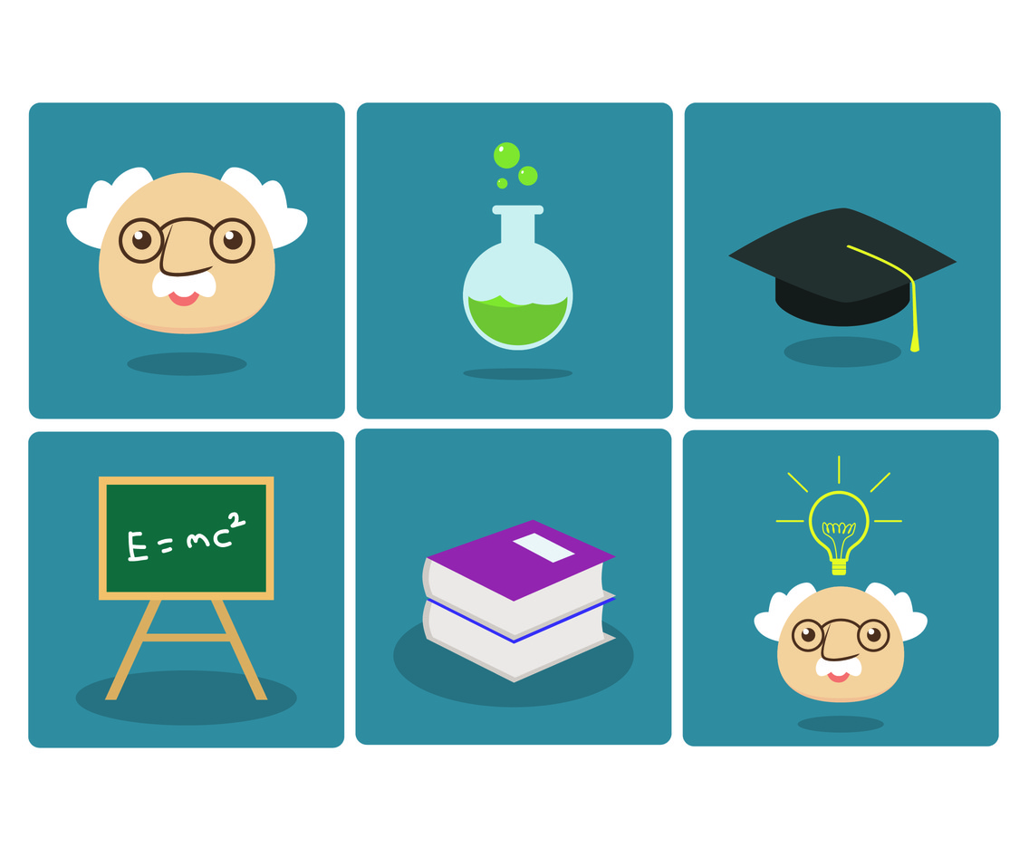 Professor's Stuff Vector Set