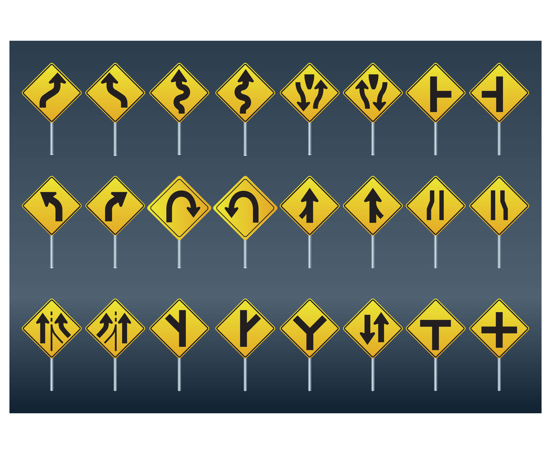 Official Basic Road signs
