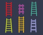 Colorful Ladder Collection Vector