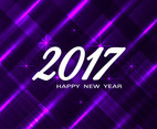 Free Vector Happy New Year 2017 Modern Background