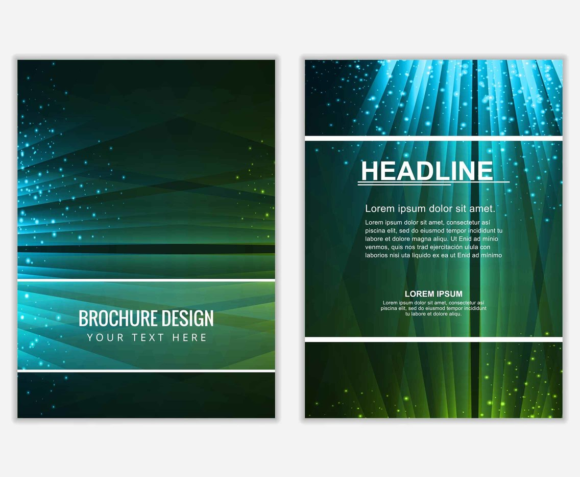Free vector Colorful Business Brochure