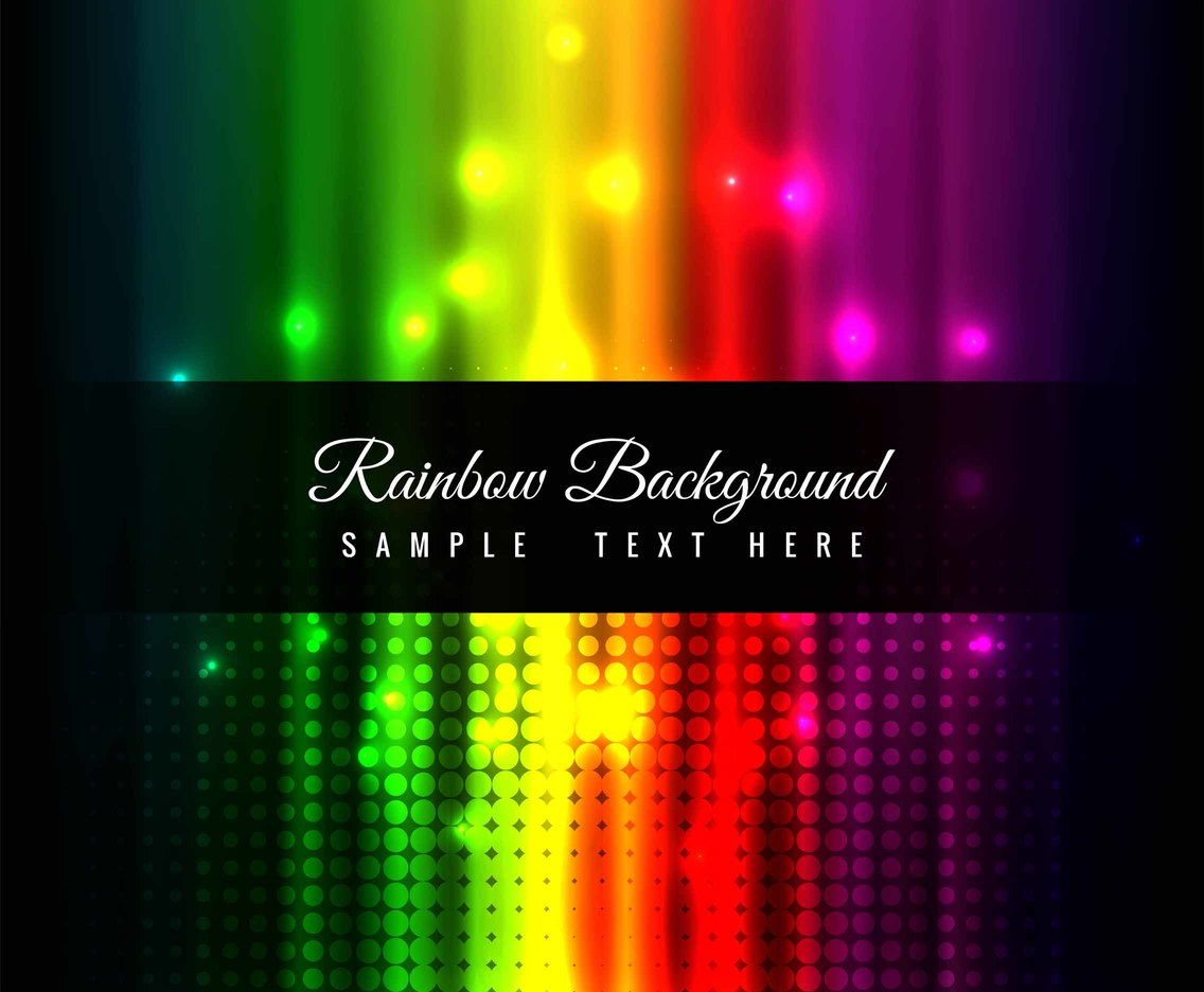 Free Vector Colorful Rainbow Background