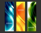 Free Vector Colorful Wavy Headers