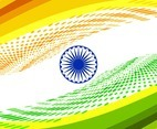 Free Vector Indian Flag Modern Background