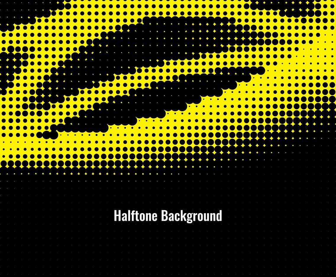 Free Vector Modern Halftone background
