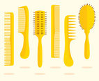 Flat Comb Vector Set