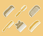 Comb Collection Vector