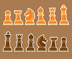 Chess Figure Vector Set