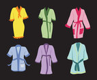 Various Bathrobe Vector