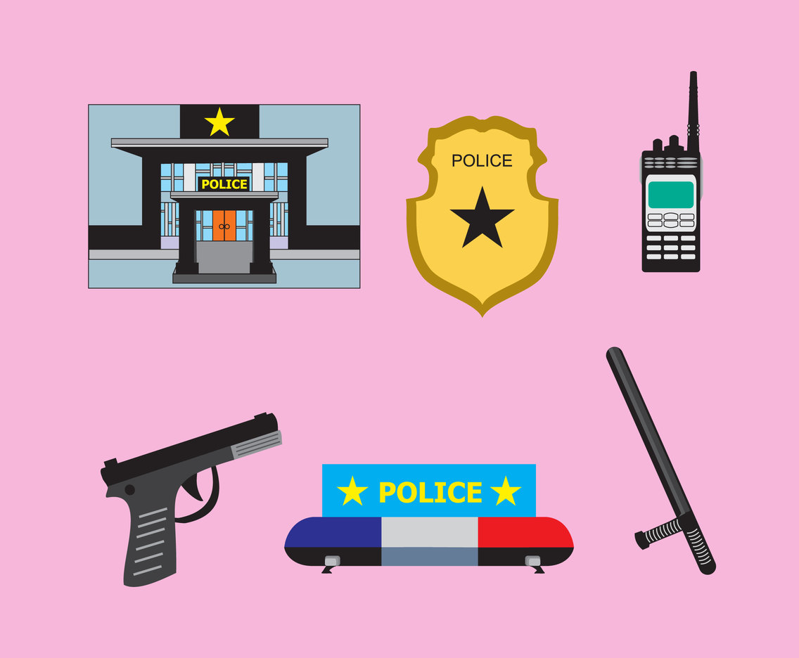 Police Attribute Vector