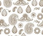 Henna Tattoo Pattern