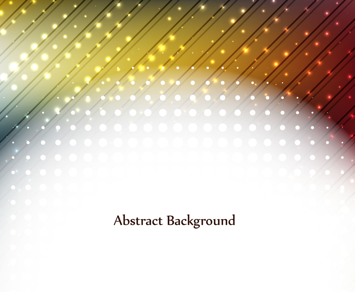 Free Vector Colorful Glowing Background