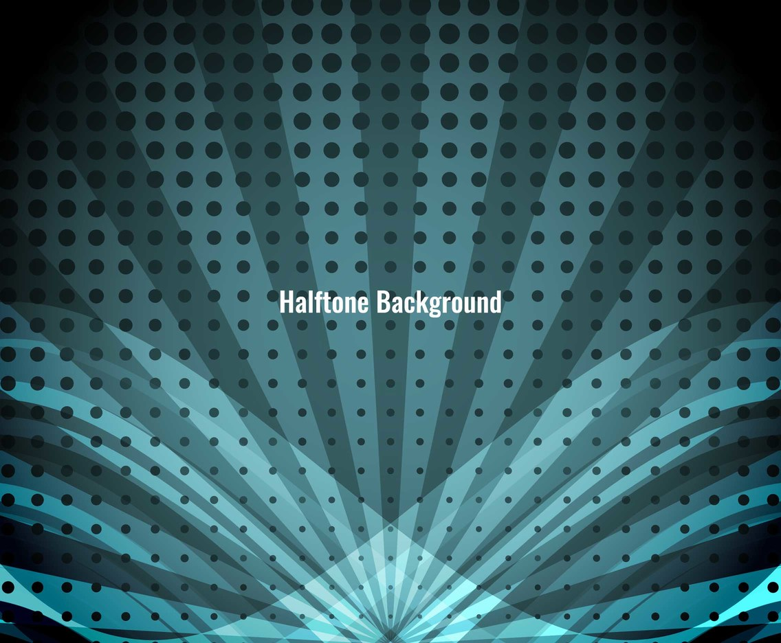 Free Vector Abstract Halftone Background
