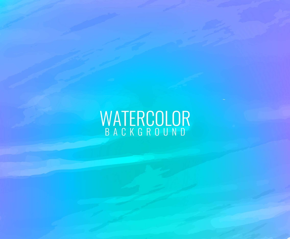 Free Vector Modern Watercolor background