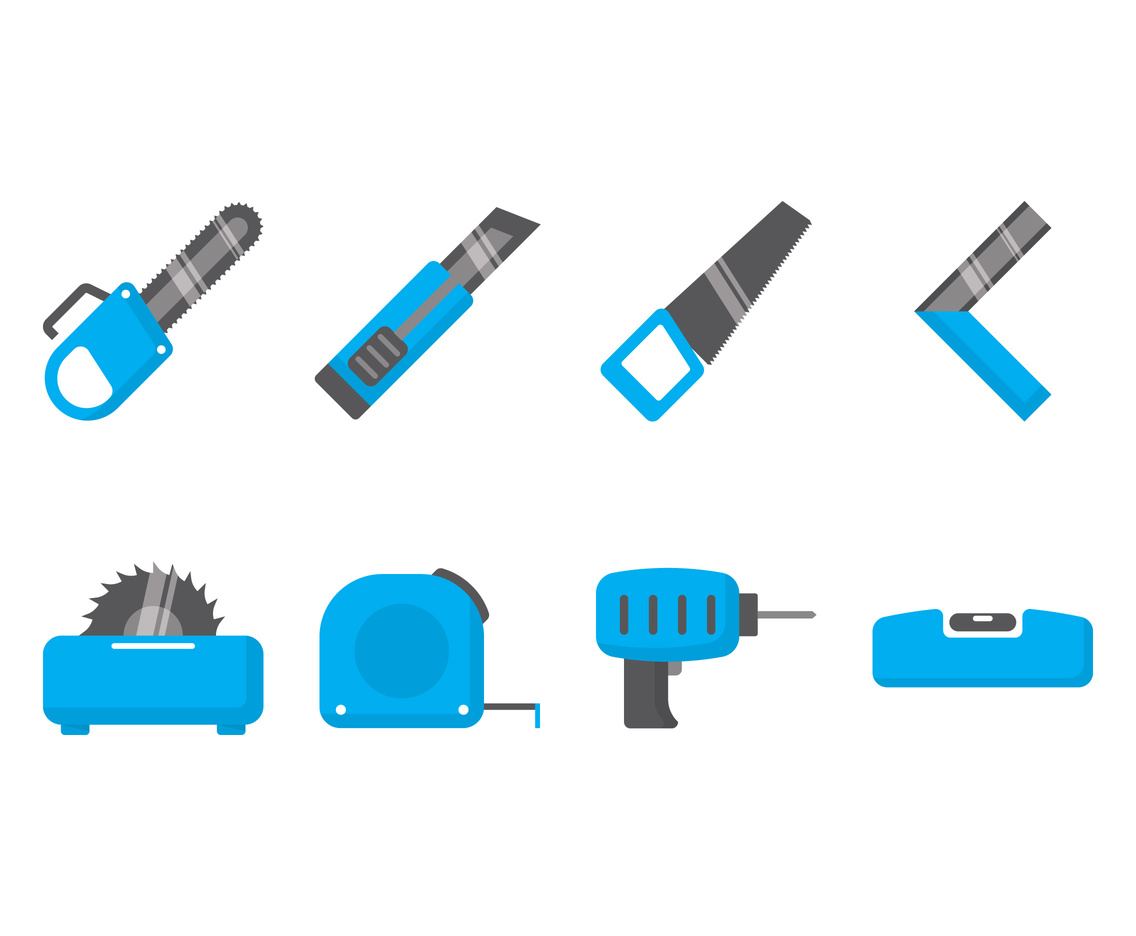 Chainsaw Icon Set