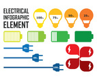 Electrical Infographic Set