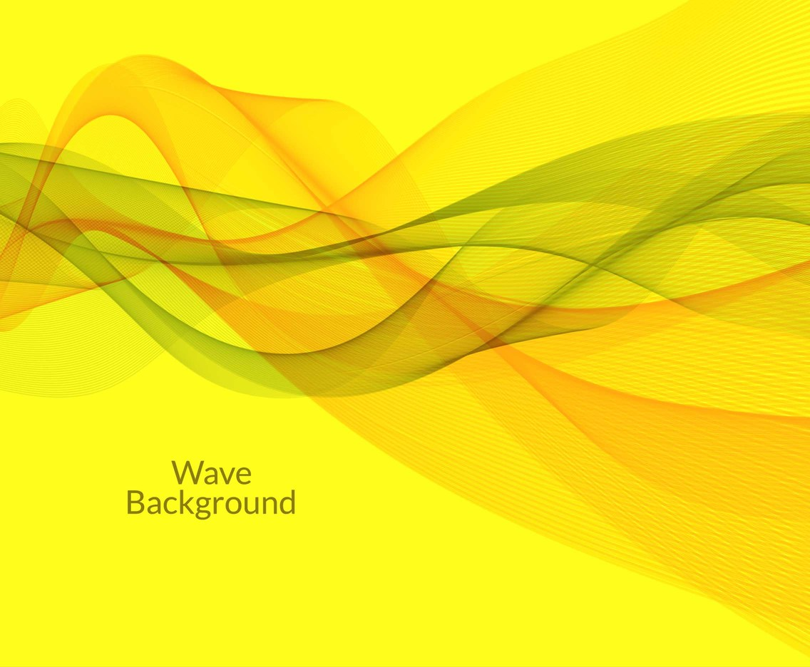 Free Vector Colorful Wave Background