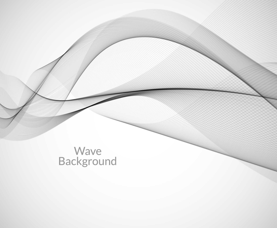 Free Vector Grey Wave Background