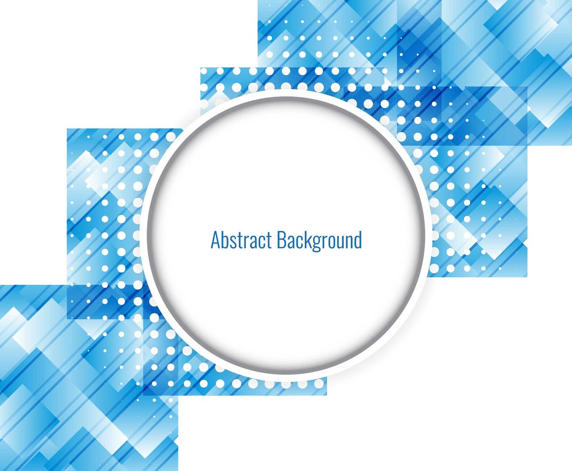 Free Vector Blue Geometric Background