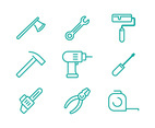 Tools Linear Icons