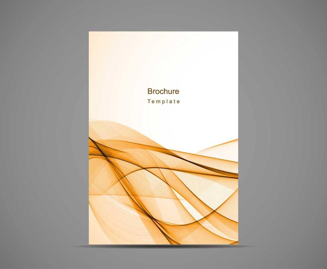 Free Vector Modern Business Brochure Background