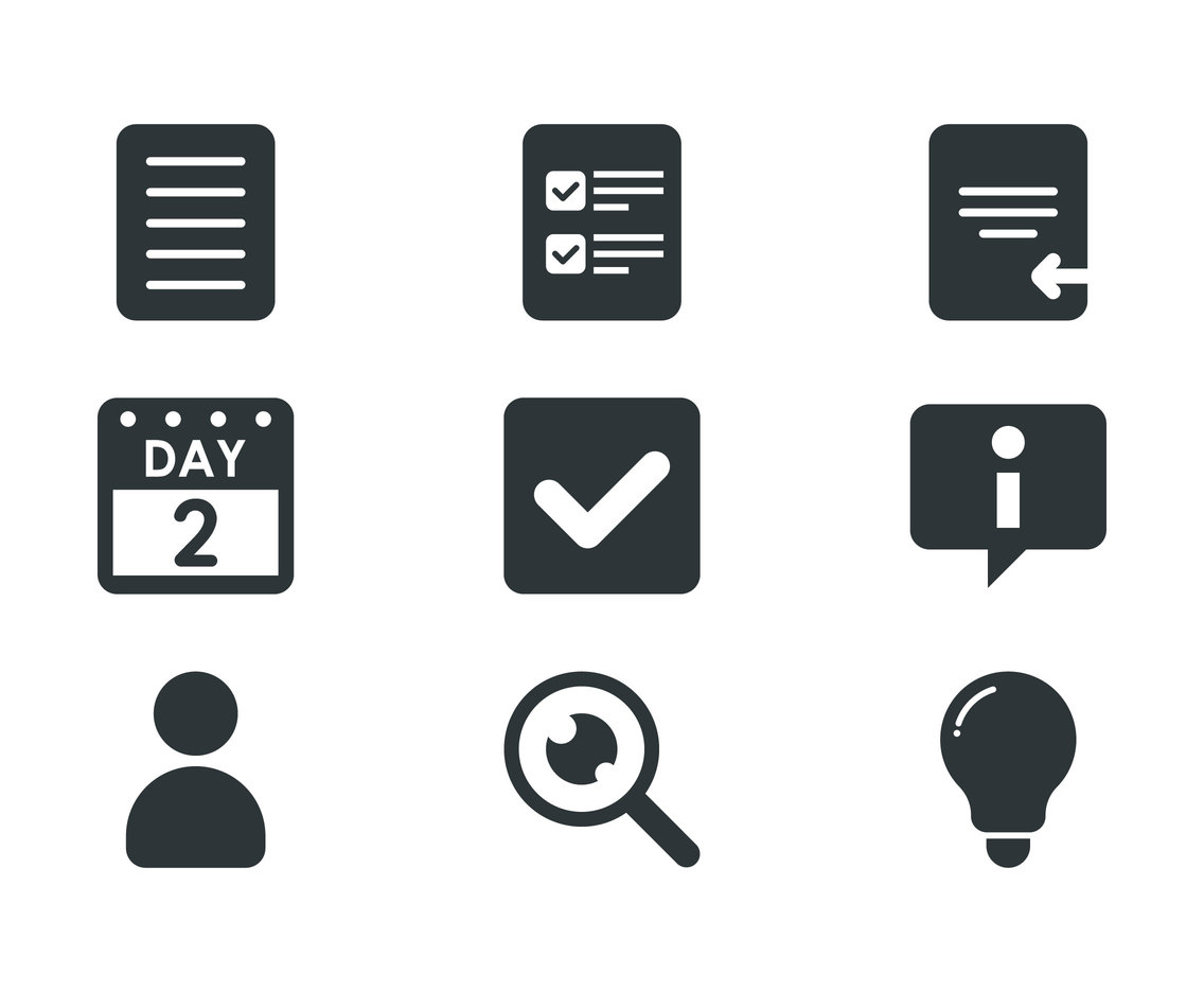 File Document Icons