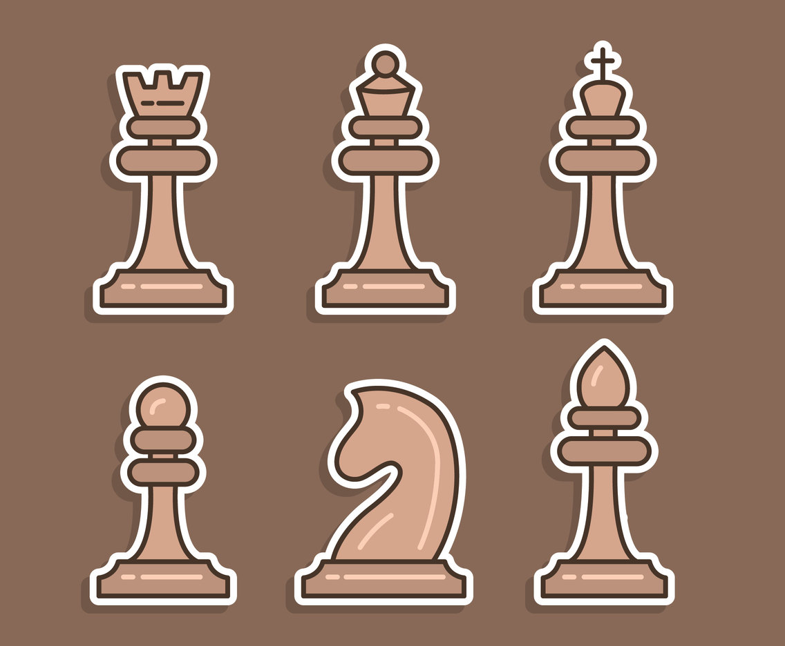 Brown Chess Vector