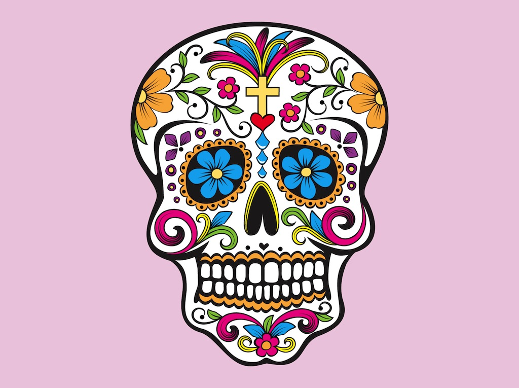 Colorful Mexican Skulls Images amp Pictures Becuo