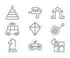 Linear Toy Icons